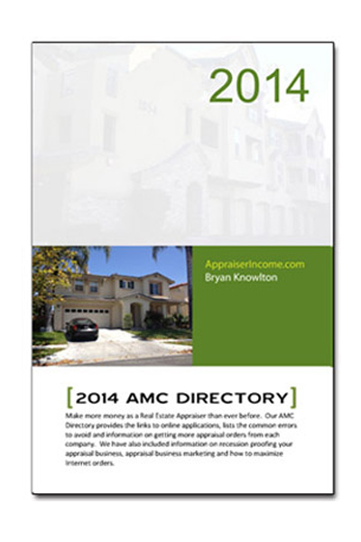 2012 Appraisal Management Company Directory